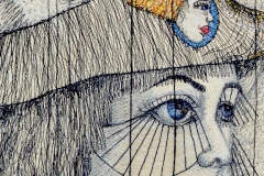 Bridgart Embroidery - Artfully Distressed in an Uneasy World