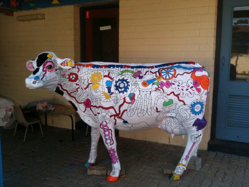 Cheryl & Picasso Cow Machine